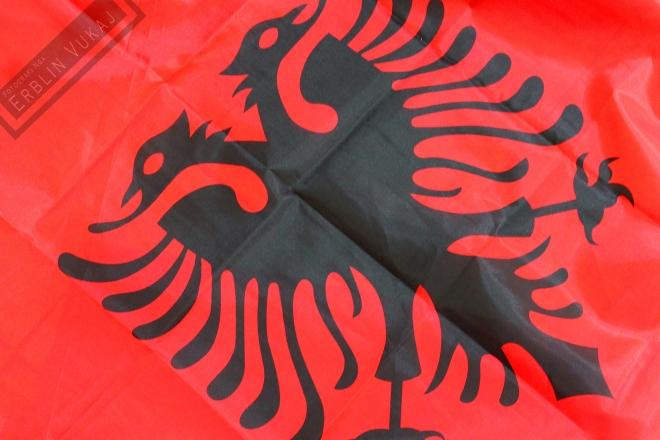 Cinese Albanian Flag